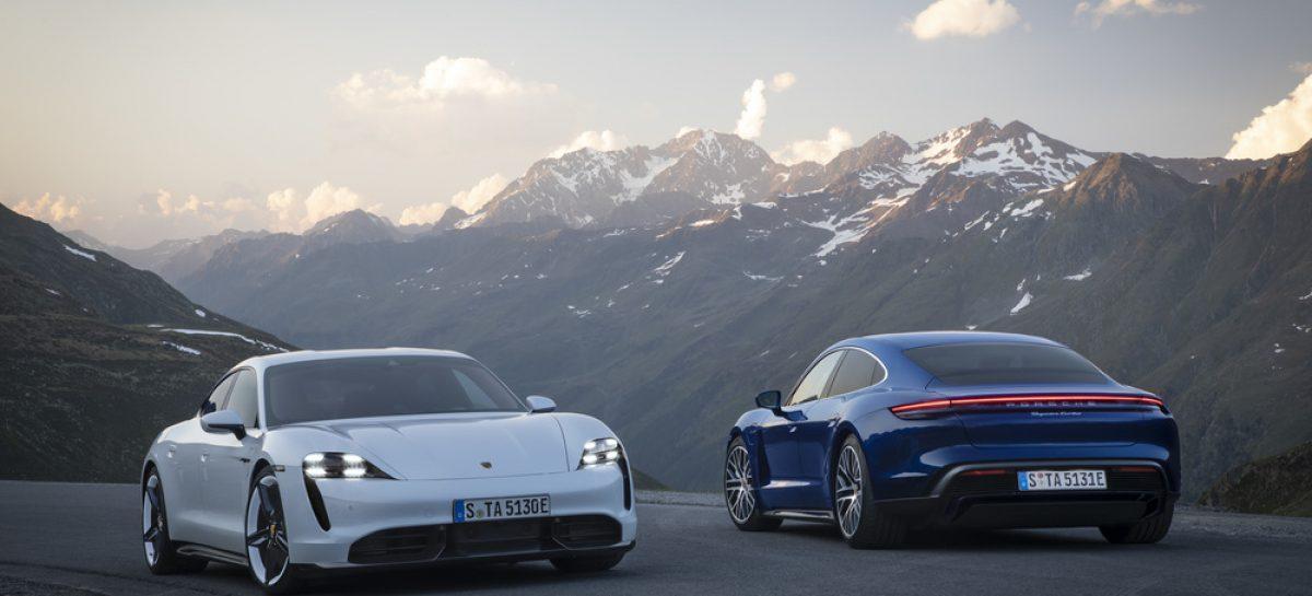 «Всемирный автомобиль года»: двойная победа Porsche Taycan