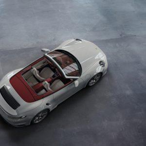 Элегантный двухцветный кожаный салон от Porsche Exclusive Manufaktur