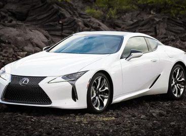 Lexus показал обновленное купе Lexus LC500