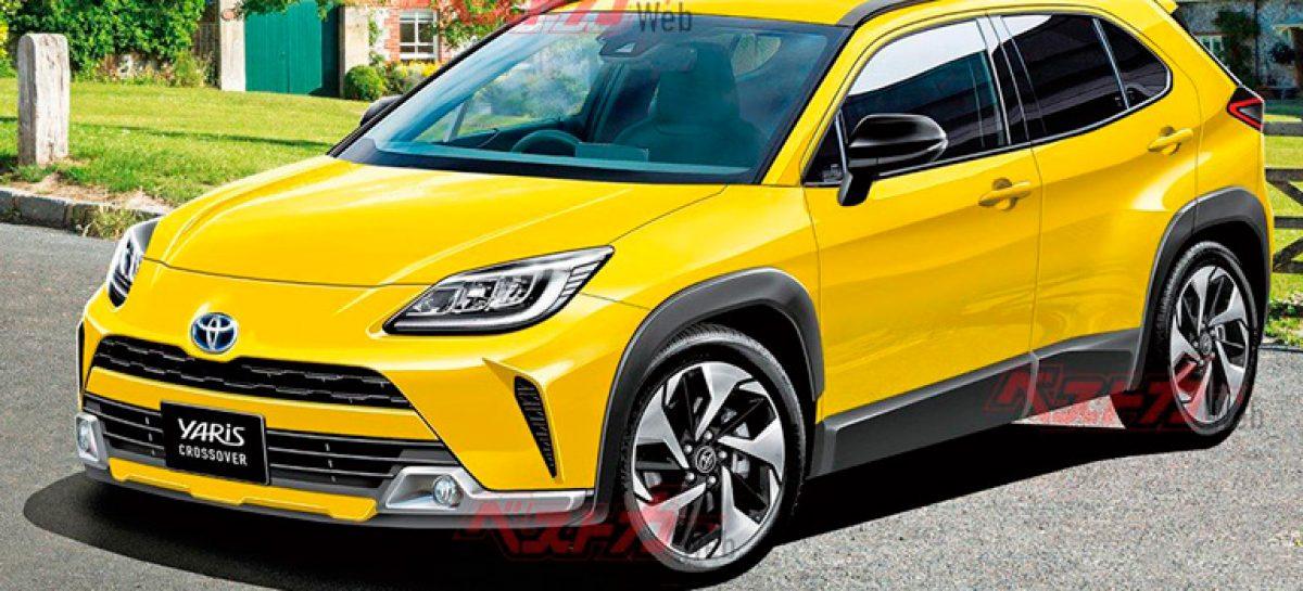 Опубликованы характеристики нового кроссовера Toyota