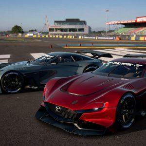 Mazda представила виртуальный гоночный автомобиль Mazda RX-Vision GT3 Concept