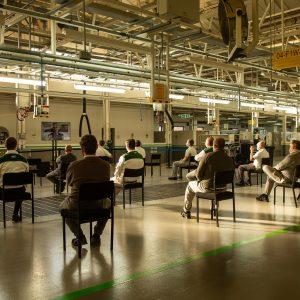 Bentley – меры безопасности на производстве, связанные с риском распространения Covid-19