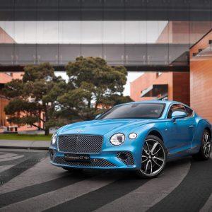 Новый Bentley Continental GT V8 теперь в России