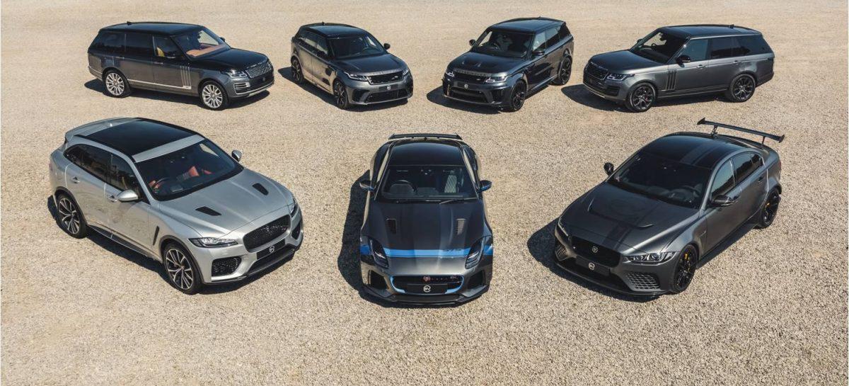Jaguar Land Rover анонсирует результаты продаж автомобилей подразделения Special Vehicle Operations в 2019/20 фискальном году