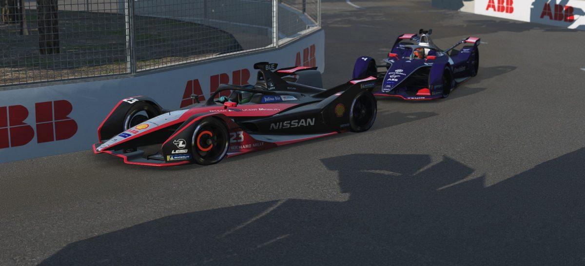 На очередном этапе Формулы Е на виртуальной трассе в Гонконге команда Nissan e.dams в обеих гонках завоевала места в первой десятке