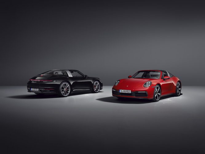 Porsche 911 Targa 4 & Targa 4S 2020