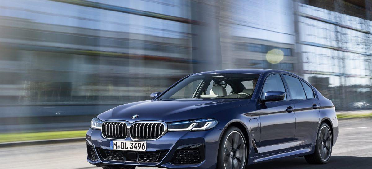 BMW представляет новый BMW 5 серии