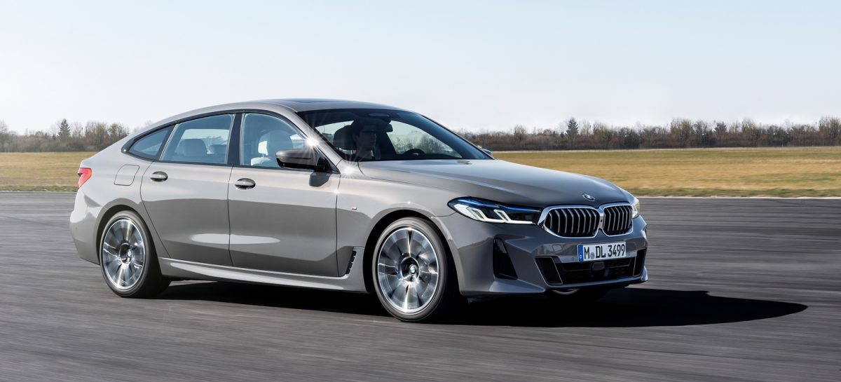 Новый BMW 6 серии GT – спортивный дизайн и комфорт