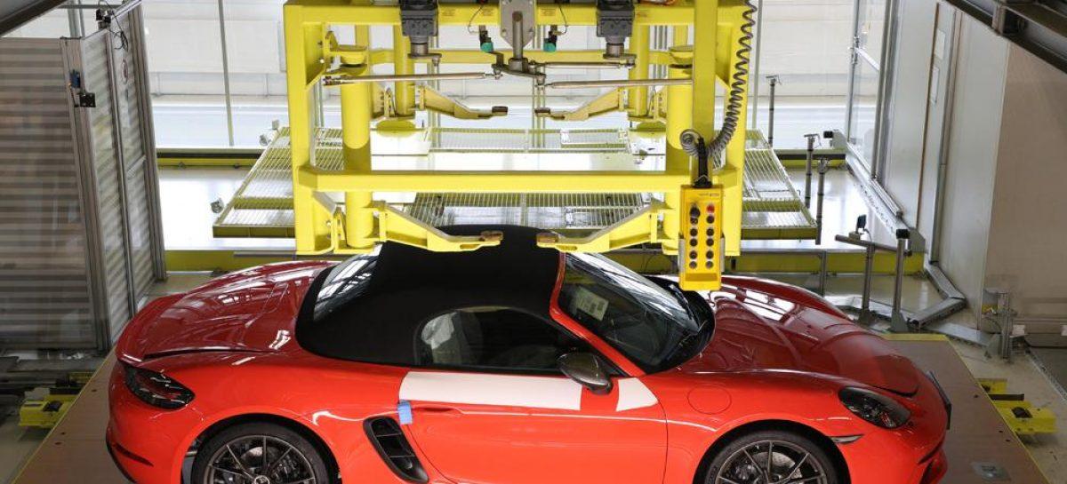 Онлайн-платформа «My Porsche» получила эксклюзивную возможность