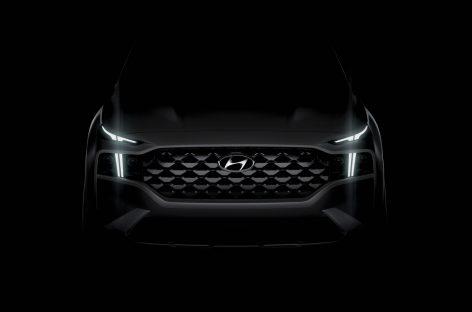 Изысканный дизайн нового Santa Fe: Hyundai представляет первый снимок автомобиля