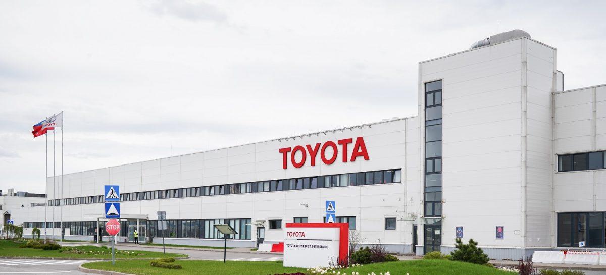 Toyota переоборудовала производство в Санкт-Петербурге для помощи городу в борьбе с пандемией