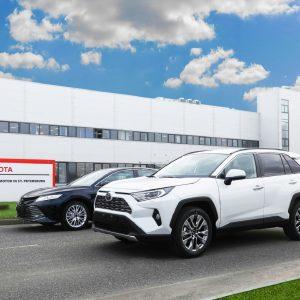 Toyota начала экспорт автомобилей российского производства в Армению