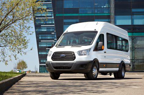 Маршрутное такси – 20 000-й автомобиль спецверсии на базе Ford Transit
