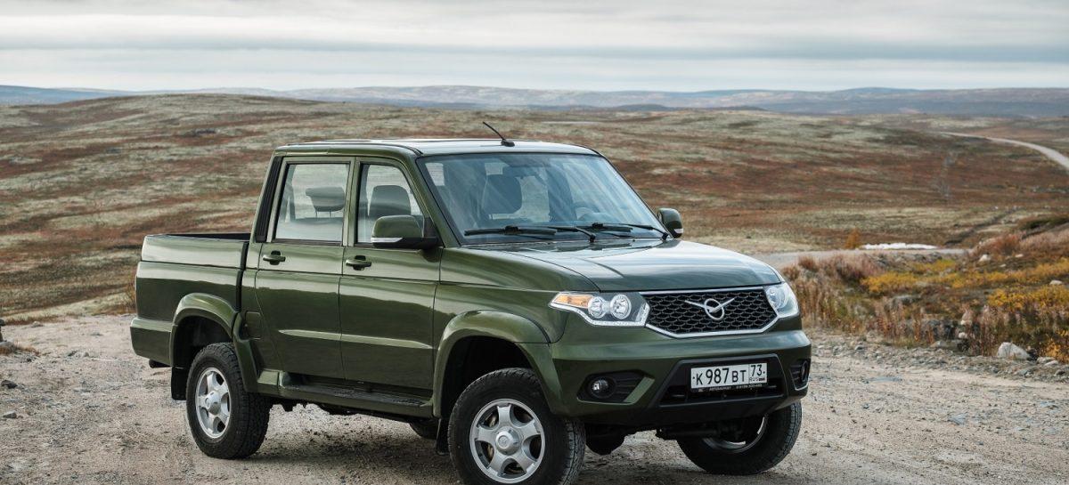 В Ульяновске стартовало производство УАЗ Пикап с АКПП