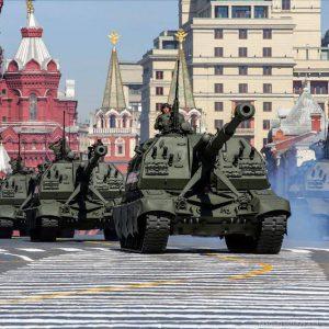 Движение автомобилей в Москве будет ограничено в связи с репетицией парада Победы