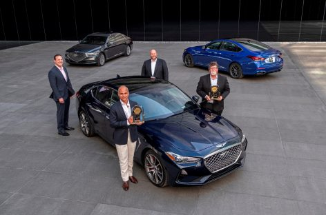 Genesis стал лучшим среди премиум брендов в рейтинге качества автомобилей по версии J.D. Power