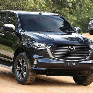 Mazda представила пикап Mazda BT-50 нового поколения