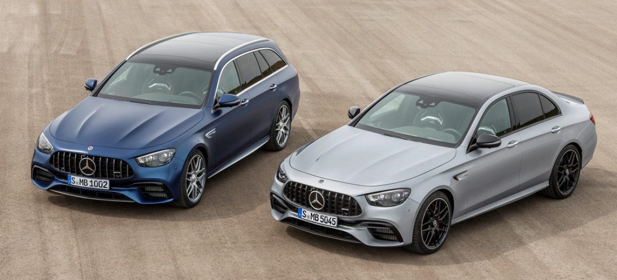 Спортивная динамика и повышенный комфорт: новые седан и универсал Mercedes-AMGE 63 4MATIC+:
