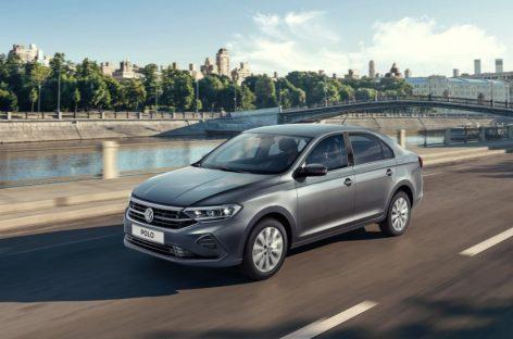 В России будет отозвано около тысячи Volkswagen Polo Sedan