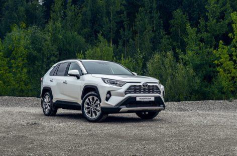 Toyota RAV4 получил высшую оценку в трех значимых рейтингах