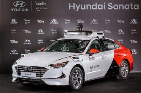 Автономная Hyundai Sonata стала беспилотным автомобилем Яндекса