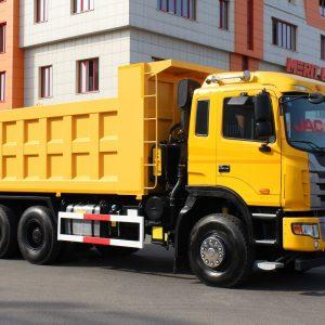 JAC завершил сертификацию самосвала JAC N350 для российского рынка