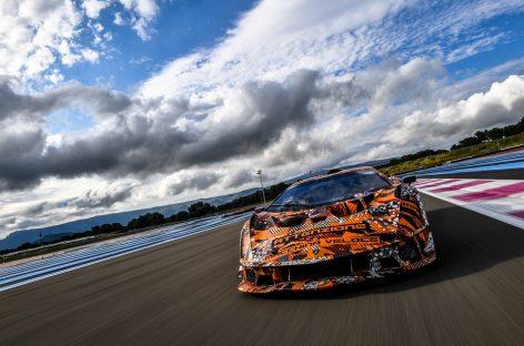 Lamborghini готовит премьеру гоночного гиперкара SCV12