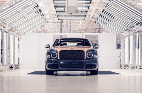 Bentley завершил производство Mulsanne