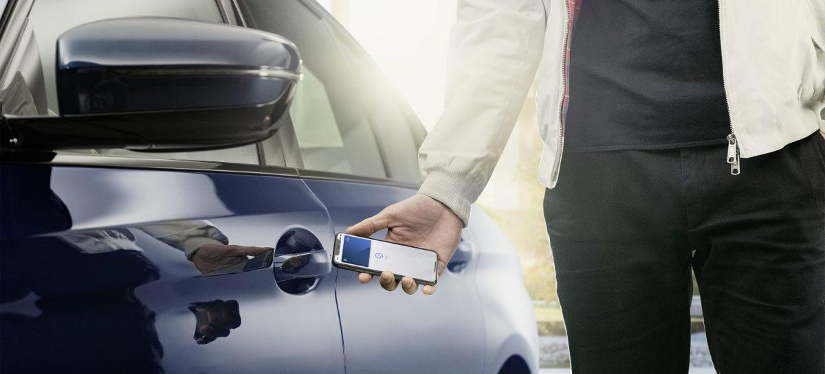 BMW первым в мире представил Digital Key для iPhone