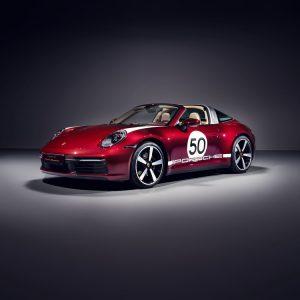 Porsche представляет первую модель Heritage Design