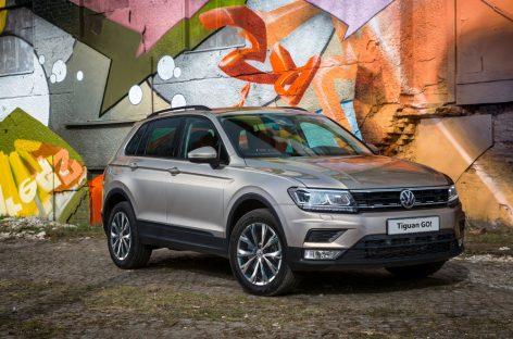 Volkswagen представляет специальную версию Tiguan GO!