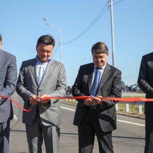 Открыт участок ЦКАД от Можайского до Новорижского шоссе