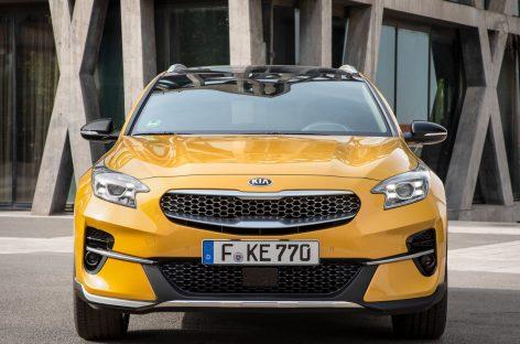 Стали известны российские цены и комплектация нового купе-кроссовера KIA XCeed
