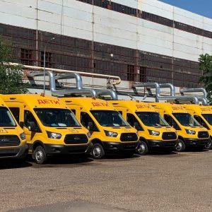 Школы Татарстана получат  200 новых автобусов от Ford