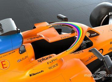 На всех болидах F1 появятся наклейки с радугой