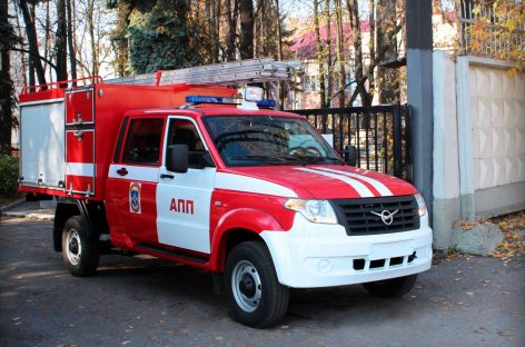 Вышла новая модификация УАЗ Профи – пожарный автомобиль первой помощи