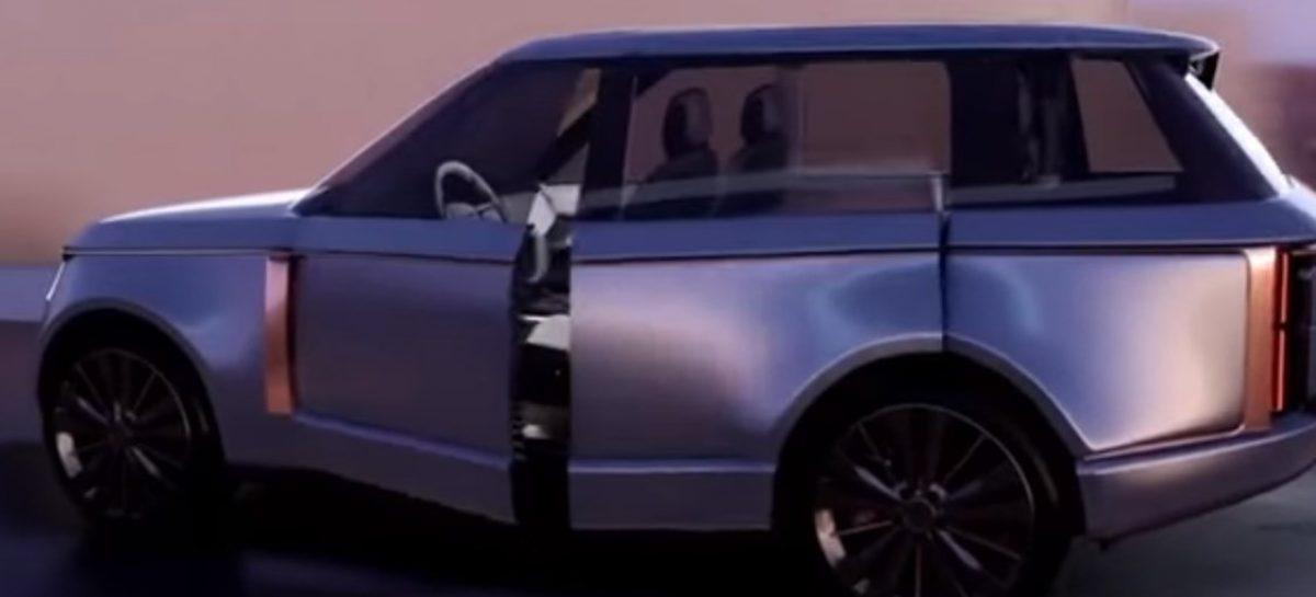 Стало известно, как будет выглядеть новый Range Rover