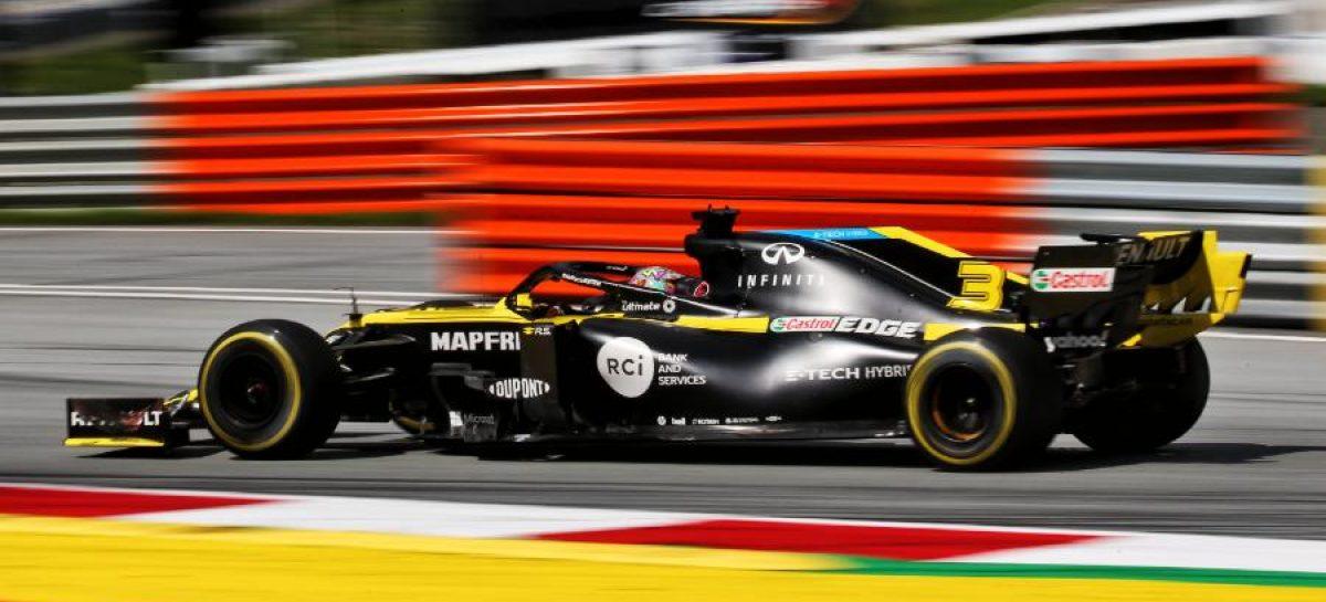 Renault DP World F1 Team на Гран-при Штирии