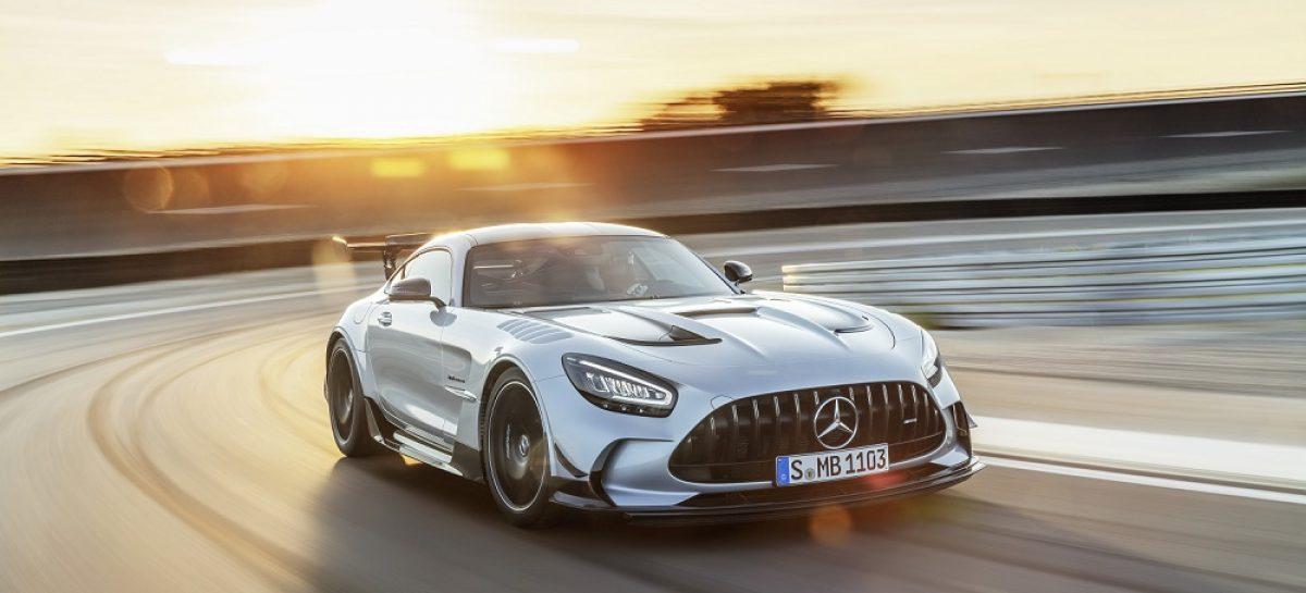 Новый Mercedes-AMG GT Black Series