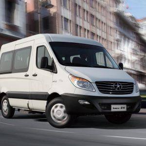 Китайский микроавтобус JAC Sunray прошел сертификацию в России