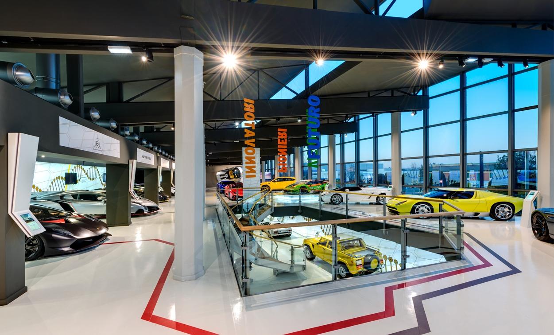 музей технологий Lamborghini
