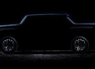 GMC опубликовал новый тизер на электрический грузовик Hummer