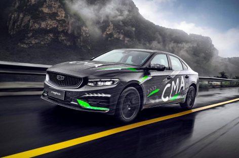 Geely показала новый седан на базе Volvo