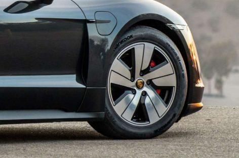 Hankook поставляет специальные шины для спортивного электромобиля Porsche Taycan