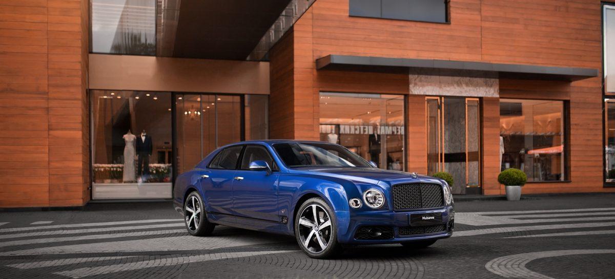 Единственный в России Bentley Mulsanne 6.75 Edition можно увидеть в дилерском центре Москвы