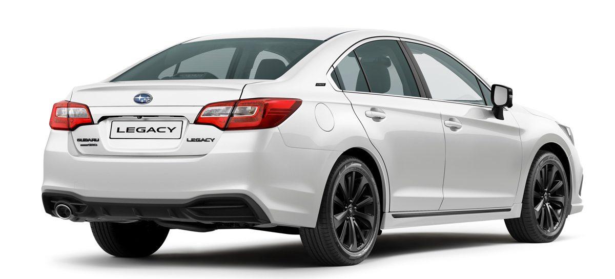 Subaru Legacy Ultimate – новая специальная версия для России
