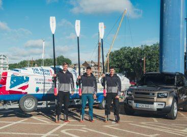 Часы Land Rover x Elliot стали официальным хронометром благотворительной гребной экспедиции
