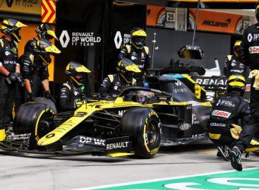 Renault DP WorlD F1 Team на Гран-при Венгрии