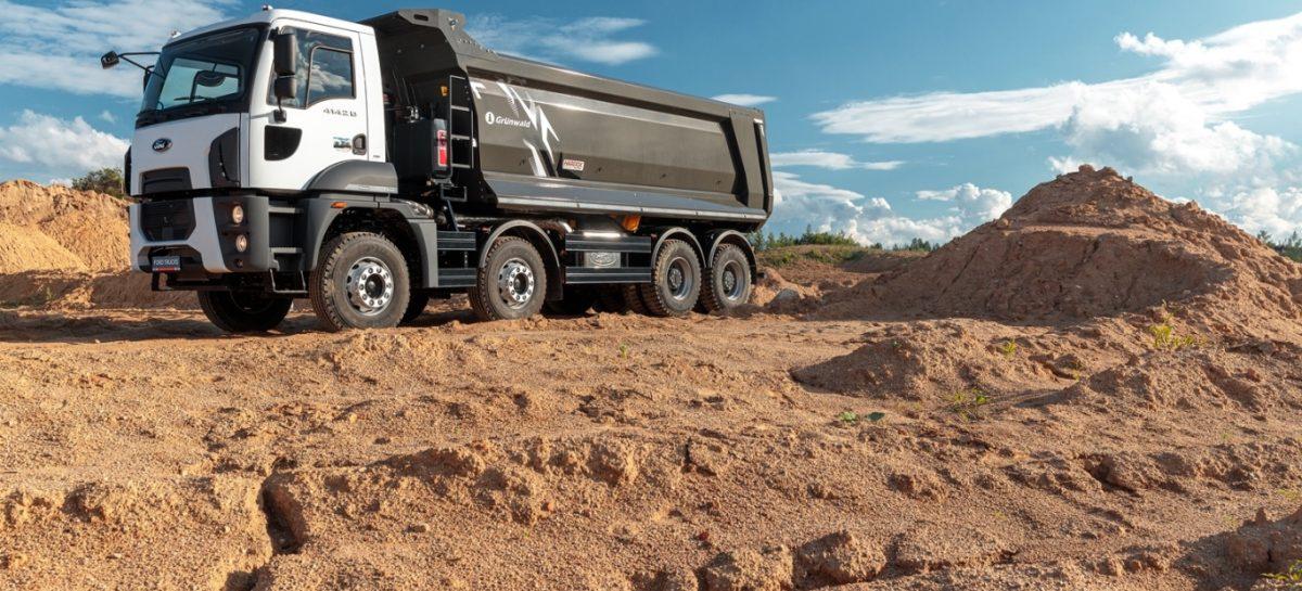 Самосвал Ford Trucks разработан специально для российских перевозчиков