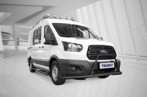 Новый Ford Transit для охотников и рыболовов